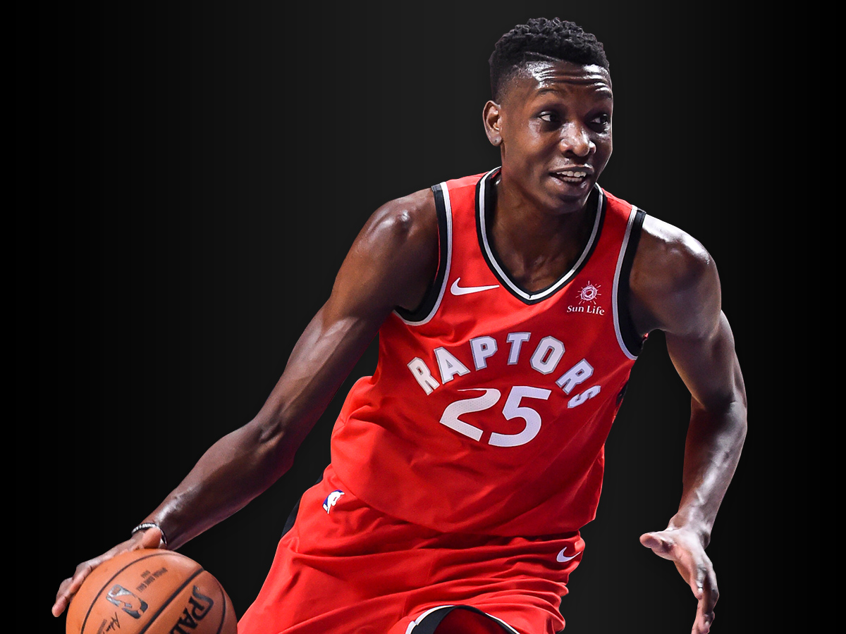 Picture of Chris Boucher playing basketball